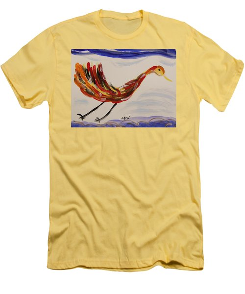 Inspired By Calder's Only Only Bird Men's T-Shirt (Athletic Fit)