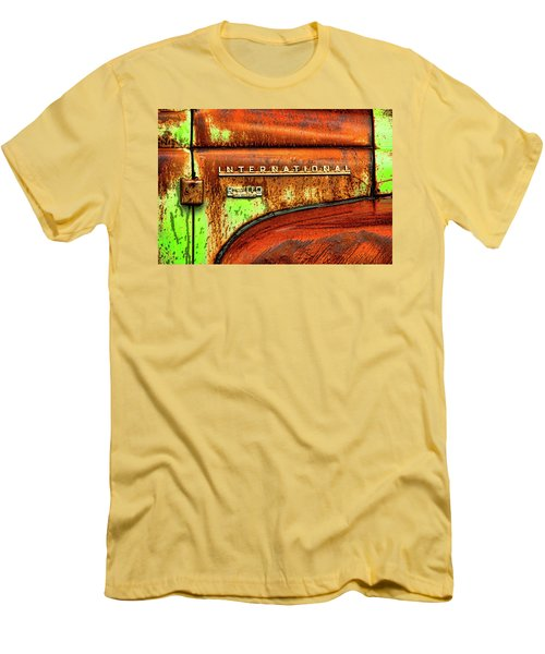 International Mcintosh  Horz Men's T-Shirt (Slim Fit) by Jeffrey Jensen