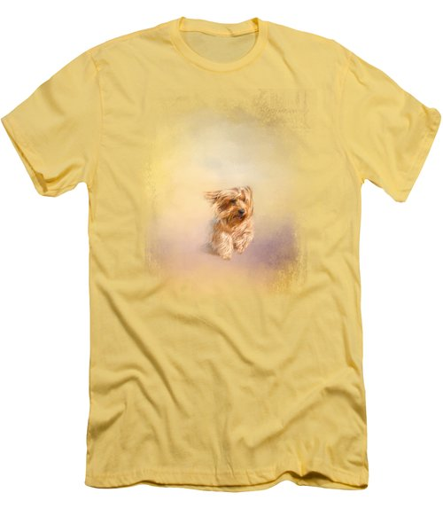 Into The Wind Men's T-Shirt (Slim Fit) by Jai Johnson