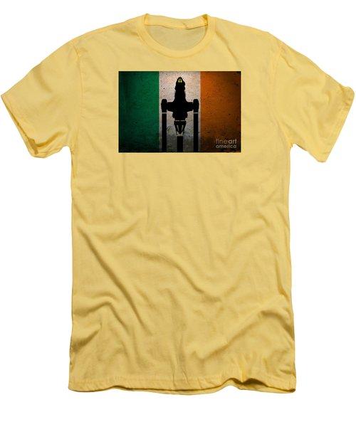 Irish Brown Coats Men's T-Shirt (Slim Fit) by Justin Moore