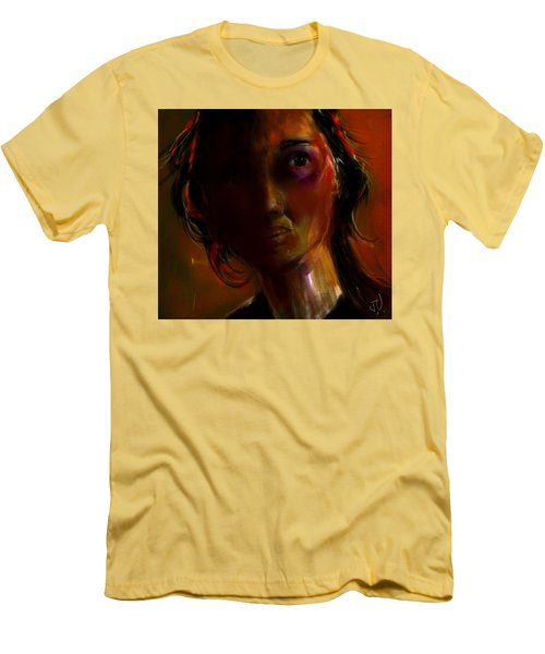 Men's T-Shirt (Slim Fit) featuring the painting Isabella by Jim Vance