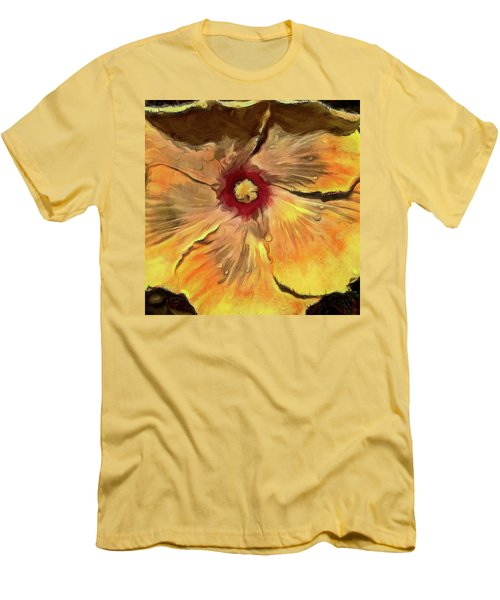 Men's T-Shirt (Slim Fit) featuring the mixed media Isabella by Trish Tritz