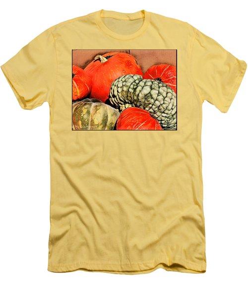 It's Pumpkin  Season Men's T-Shirt (Athletic Fit)