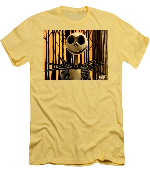 Jack Skelington Men's T-Shirt (Athletic Fit)