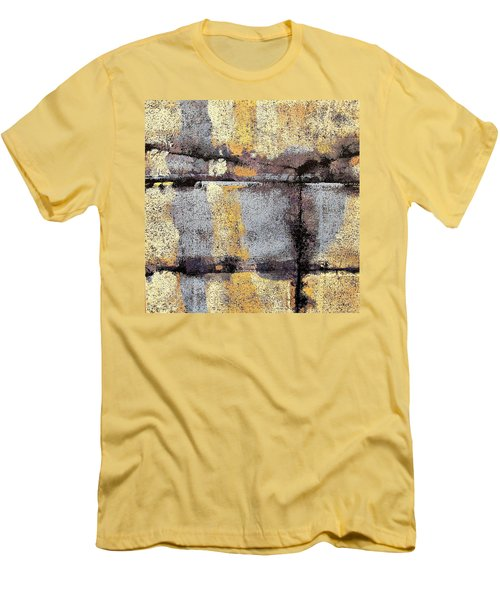Jagged Lavendar Men's T-Shirt (Slim Fit) by Maria Huntley
