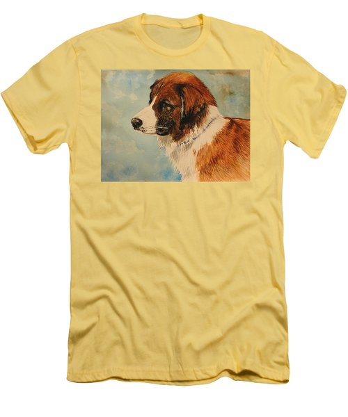 Jake Men's T-Shirt (Slim Fit) by Betty-Anne McDonald