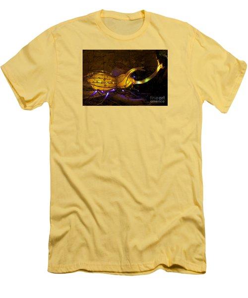Japanese Beatle Lantern Men's T-Shirt (Athletic Fit)