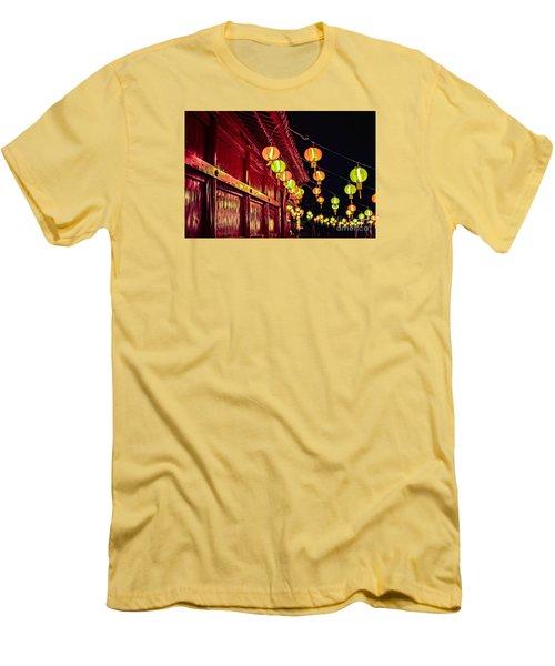 Japanese Lanterns 10 Men's T-Shirt (Athletic Fit)