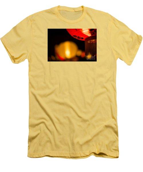 Japanese Lanterns 2 Men's T-Shirt (Athletic Fit)