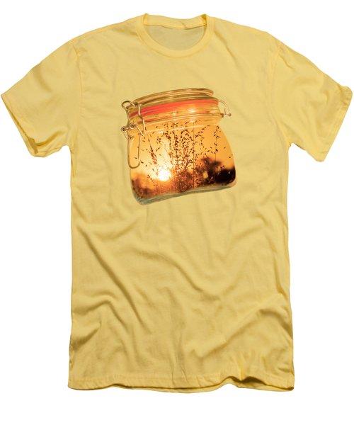 Jar Full Of Sunshine Men's T-Shirt (Athletic Fit)