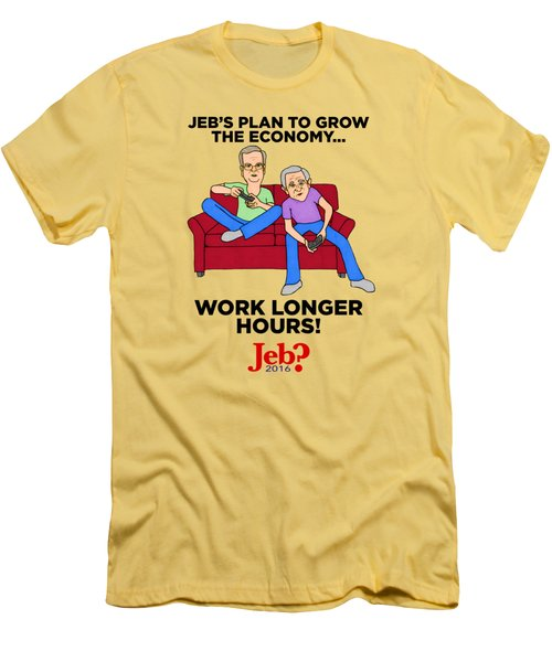 Jebbers Men's T-Shirt (Slim Fit) by Sean Corcoran