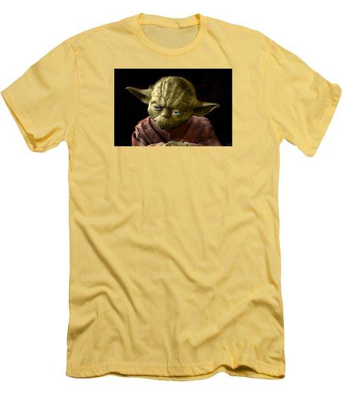 Jedi Yoda Men's T-Shirt (Athletic Fit)