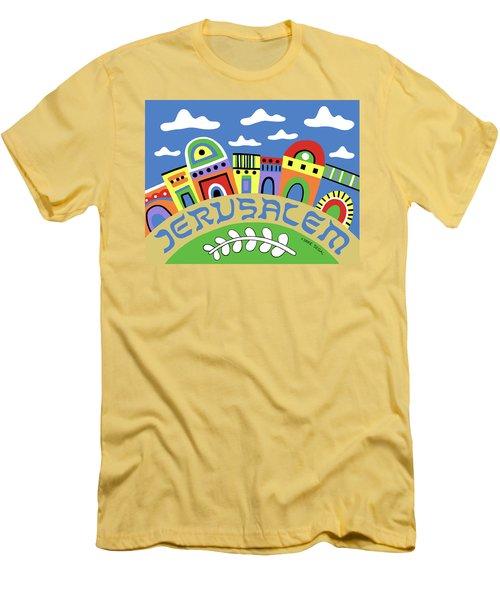 Jerusalem Men's T-Shirt (Athletic Fit)