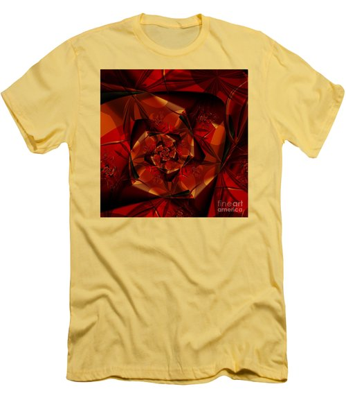 Men's T-Shirt (Slim Fit) featuring the digital art Jewel by Michelle H