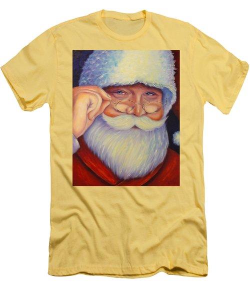 Jolly Old Saint Nick Men's T-Shirt (Athletic Fit)