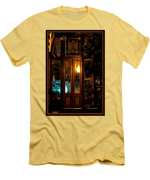 Jonesborough Tennessee 14 Men's T-Shirt (Slim Fit) by Steven Lebron Langston