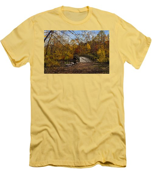 Jordan Park Bridge Men's T-Shirt (Athletic Fit)