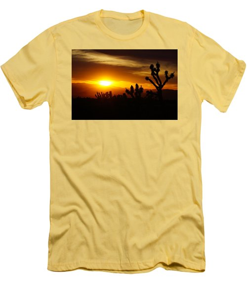 Joshua Tree Sunset In Nevada Men's T-Shirt (Athletic Fit)