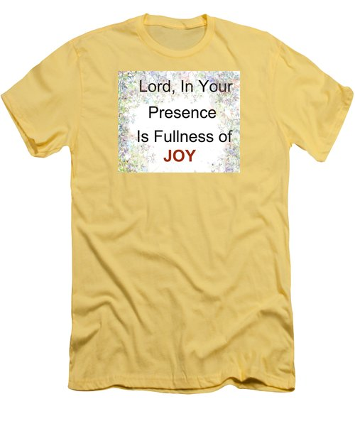Men's T-Shirt (Slim Fit) featuring the photograph Joys Of Life by Trilby Cole
