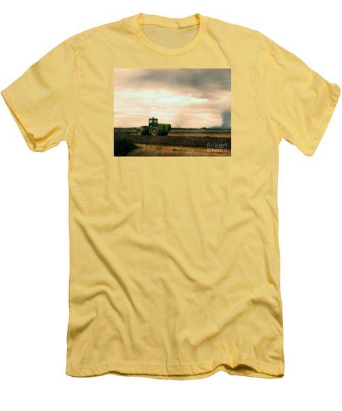 Just A John Deere Memory Men's T-Shirt (Slim Fit) by Janie Johnson