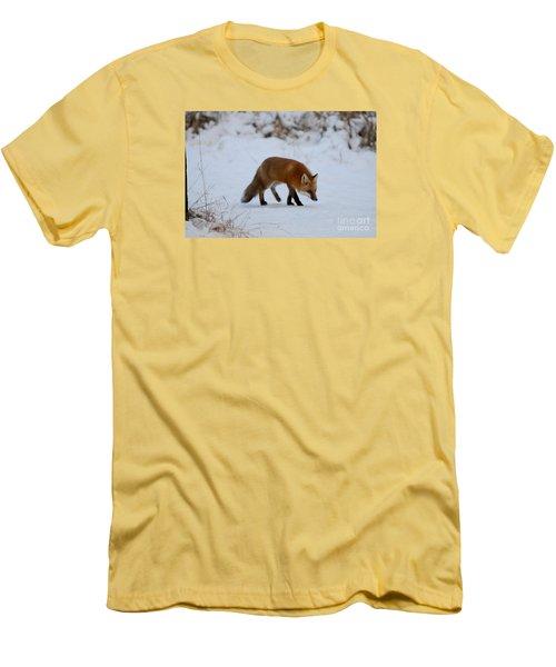 Just Hunting For Breakfast Men's T-Shirt (Slim Fit) by Sandra Updyke