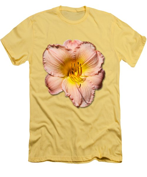 Just Peachy 2 Men's T-Shirt (Slim Fit) by Bob Slitzan