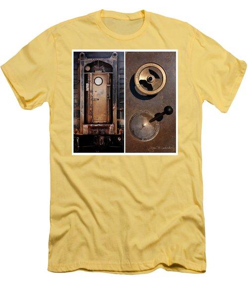 Juxtae #24 Men's T-Shirt (Slim Fit)