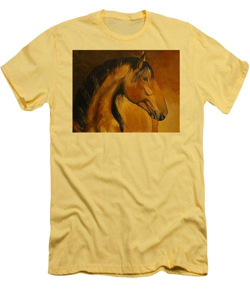 Kiger Sunrise Men's T-Shirt (Slim Fit) by Suzanne McKee
