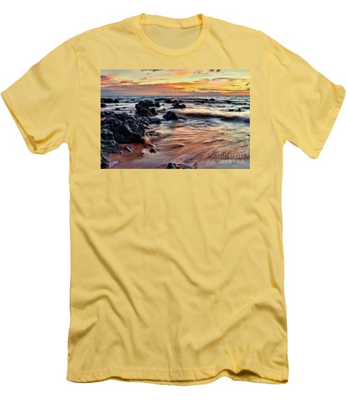 Kihei Sunset Men's T-Shirt (Athletic Fit)