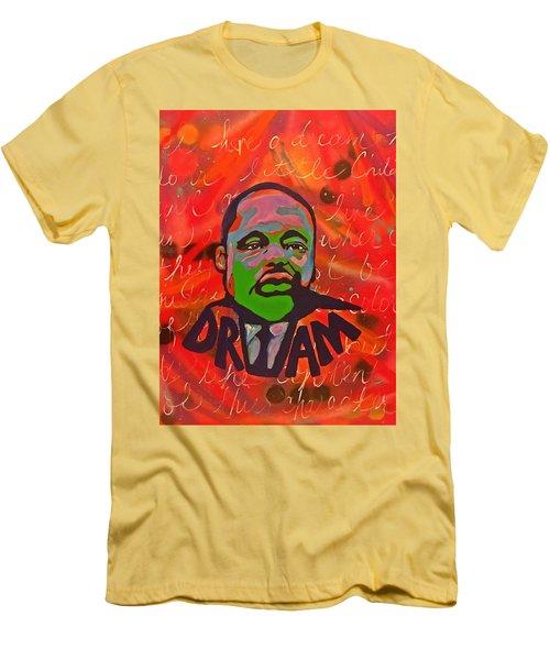 King Dreaming Men's T-Shirt (Slim Fit) by Miriam Moran