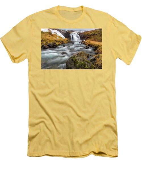 Kirkjufellsfoss Sibling  Men's T-Shirt (Athletic Fit)