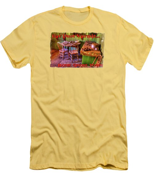 Kitchen Table Bodie California Men's T-Shirt (Athletic Fit)