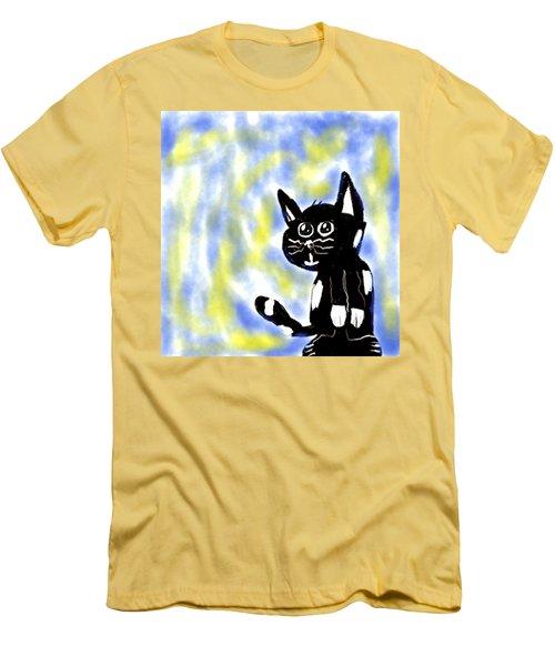 Kitty Kitty Men's T-Shirt (Slim Fit)