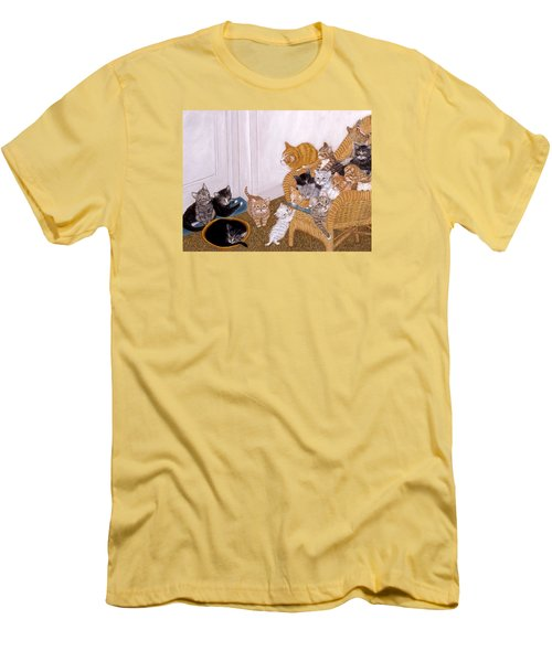 Kitty Litter II Men's T-Shirt (Athletic Fit)