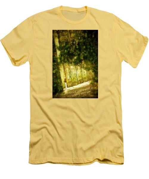 A Little Light Men's T-Shirt (Slim Fit) by Denis Lemay