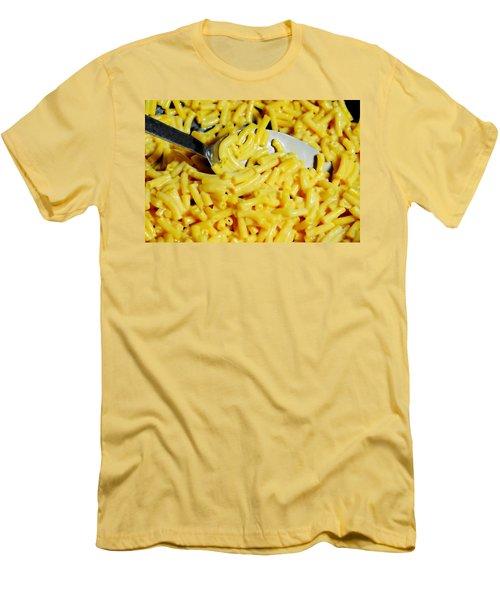 Kraft Mac'n Cheese Men's T-Shirt (Slim Fit) by Diana Angstadt
