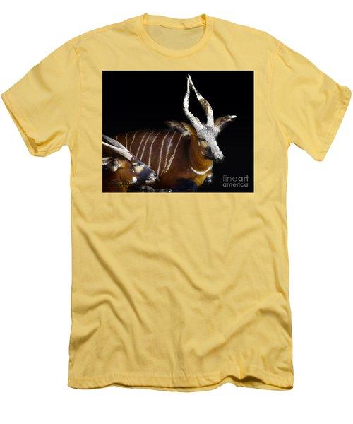 Kudo Resting Men's T-Shirt (Slim Fit) by Melissa Messick