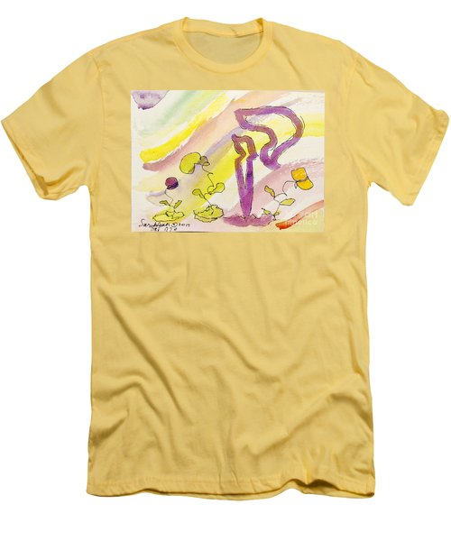 Kuf And Flowers Men's T-Shirt (Athletic Fit)