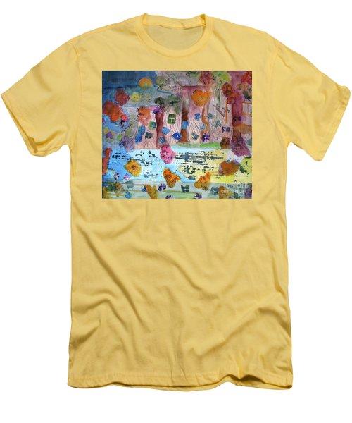 La-la Land Men's T-Shirt (Athletic Fit)