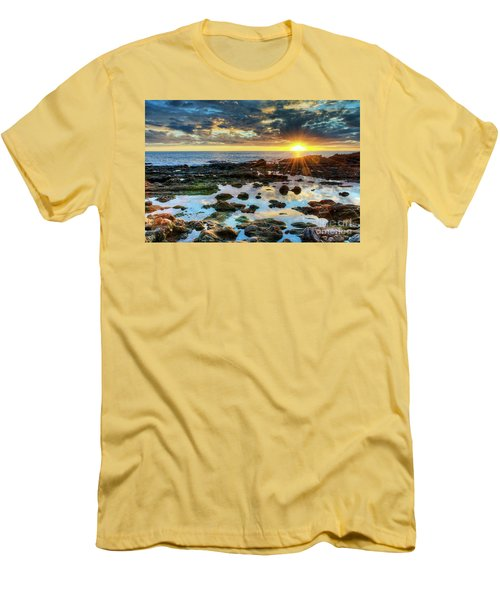 Laguna Beach Tidepools Men's T-Shirt (Athletic Fit)