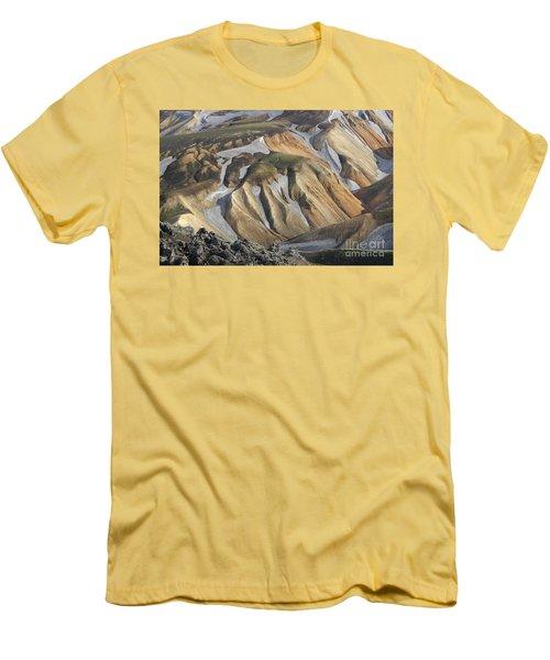 Landmannalaugar Iceland Men's T-Shirt (Athletic Fit)