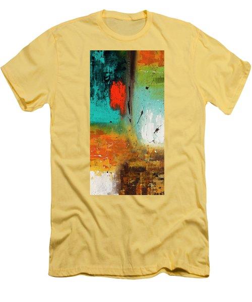 Landmarks Men's T-Shirt (Slim Fit) by Carmen Guedez