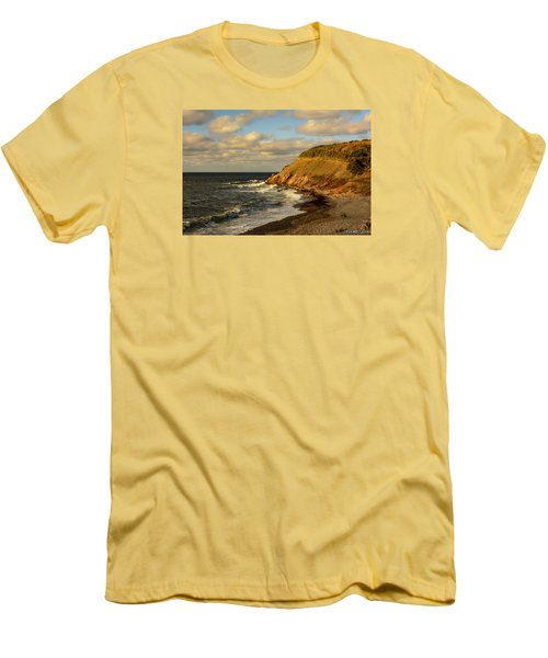Late In The Day In Cheticamp Men's T-Shirt (Athletic Fit)