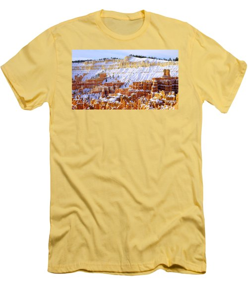 Men's T-Shirt (Slim Fit) featuring the photograph Layers by Chad Dutson