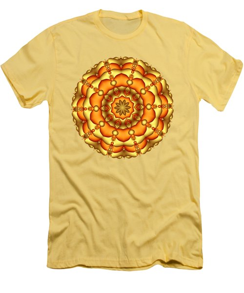 Layers Of Gold Men's T-Shirt (Athletic Fit)