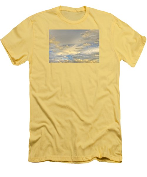 Men's T-Shirt (Slim Fit) featuring the photograph Layers by Wanda Krack