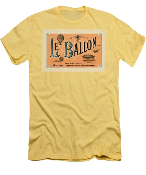 Le Balloon Men's T-Shirt (Athletic Fit)