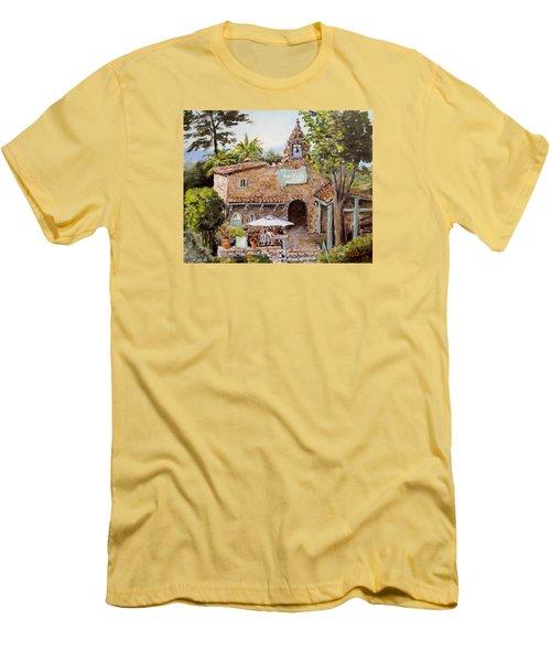 Le Petite Chapelle Men's T-Shirt (Slim Fit) by Alan Lakin