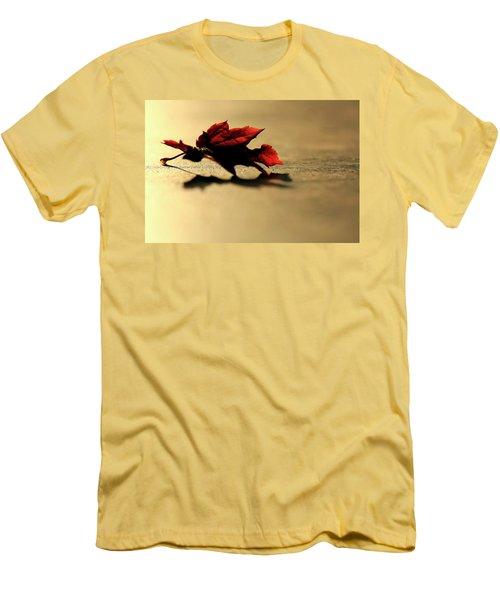 Leaf On The Garage Floor Men's T-Shirt (Athletic Fit)
