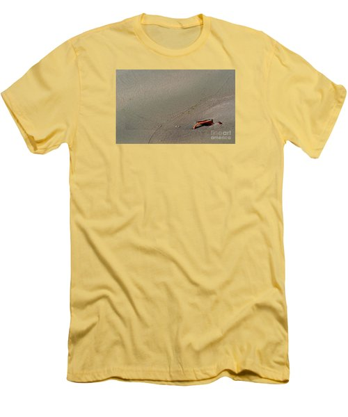 Leafe On The Beach Men's T-Shirt (Athletic Fit)